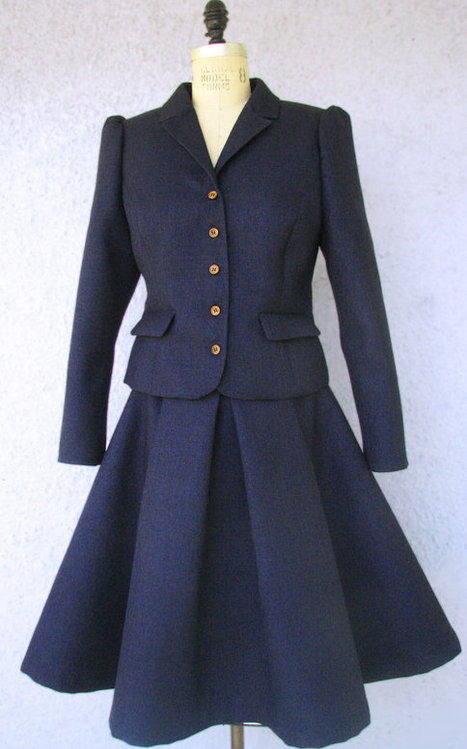 Amazing Skirt and Jacket Suits--1950s Style Couture | Personal | Scoop.it