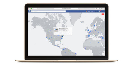 Facebook's interactive map is the best way to discover live videos streaming in real-time | Multimedia Journalism | Scoop.it