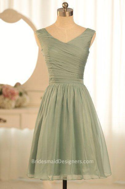 Modest Organza Bridesmaid Dresses, BridesmaidDesigners | Designer Bridesmaid Dresses 2015 | Scoop.it