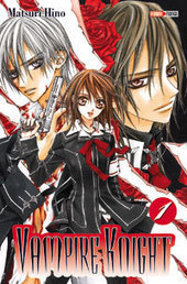 Manga - Vampire Knight, tome 1 - M. Hino - Ed. Panini   Nouveautés du CDI   Scoop.it