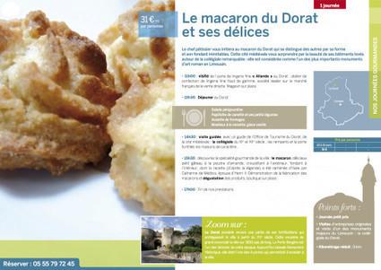 On craque pour le macaron du Dorat ! - Espace Pro / Presse Haute Vienne tourisme | Haute-Vienne Tourisme | Scoop.it
