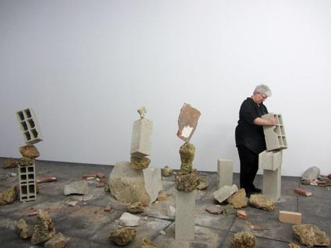 Bridget Polk: Balancing Roks | Art Installations, Sculpture, Contemporary Art | Scoop.it