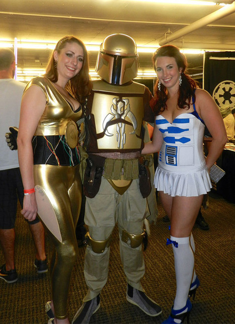 C-3PO and R2-D2 Show Off Their Sexy Side | All Geeks | Scoop.it