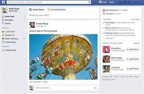 Facebook presenta un nuevo diseño más visual para la sección de ... - Europa Press | Actualidad Express | Scoop.it