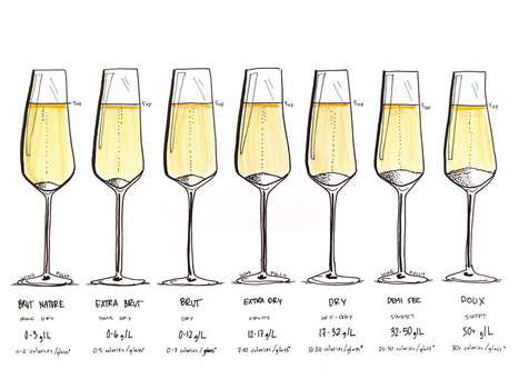 How to Choose Champagne | Wine Folly | @FoodMeditations Time | Scoop.it