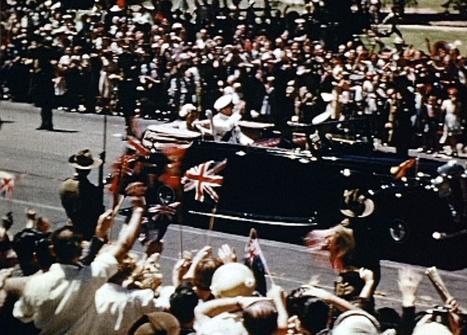 Australia Post – Royal Tour | Queen Elizabeth II Visits Australia 1954 | Scoop.it