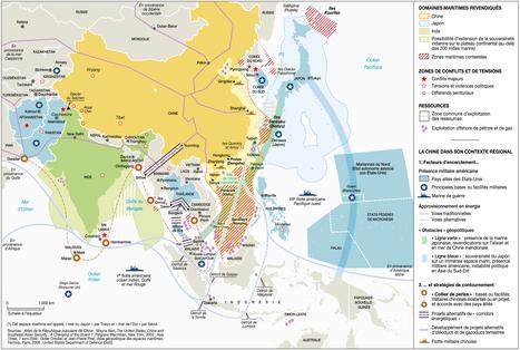 La Chine et l'Inde, nouvelles puissances maritimes - Visionscarto | Géopolitique & Cartographie | Scoop.it