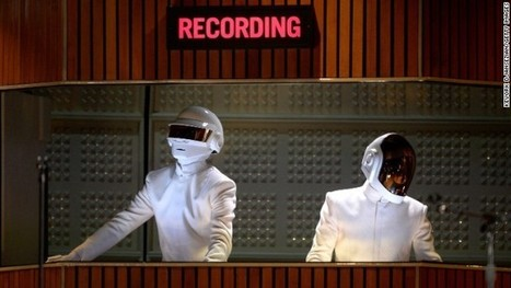 Daft Punk wins album and record of the year at 2014 Grammys | Paris France News | Scoop.it
