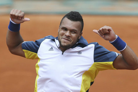 """Tsonga, la bonne attitude"" - Sports.fr 