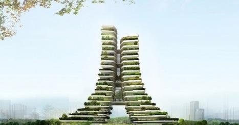Green City Hall: un edificio escalonado repleto de vegetación | EcoSiglos | Ecología - Dietética  y Nutrición | Scoop.it