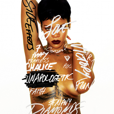 "Rihanna's New ""UNAPOLOGETIC"" Album Cover, Reveals November 19th Release Date 