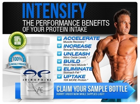 Amino Prime Muscle Building Supplement Reviews – Help you Gain Muscles and Strength Naturally! | Help in building muscles and also recover muscles faster | Scoop.it