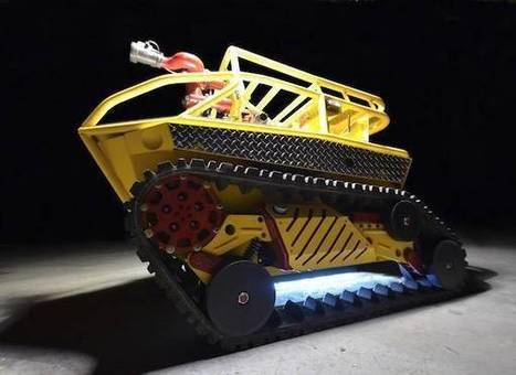 Thermite : Découverte du premier robot pompier | Semageek | Développement, domotique, électronique et geekerie | Scoop.it
