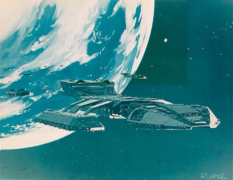 Interminable Ramble | gameraboy: Ralph McQuarrie concept art for... | F_C | Scoop.it