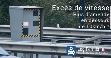 Excès de vitesse, plus d'amendes en dessous de 10km/h ? - Blog LegiPermis | Sécurité routière | Scoop.it