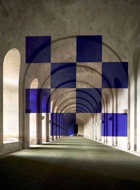 Les Installations en Anamorphose de Felice Varini | pour thp | Scoop.it