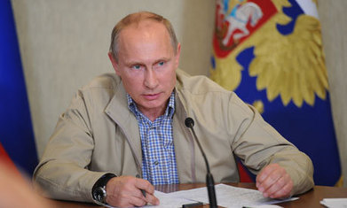 Syria: Putin rubbishes chemical attack claims | right wing news | Scoop.it