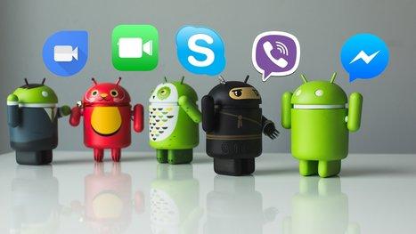 Test comparatif des applications de chat vidéo: Messenger vs Skype vs FaceTime vs Viber vs Duo - AndroidPIT | Freewares | Scoop.it