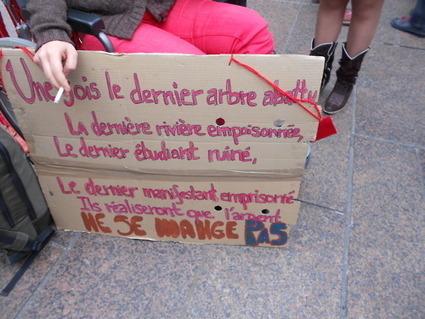 Paris-Québec L'argent ne se mange pas | #marchedesbanlieues -> #occupynnocents | Scoop.it