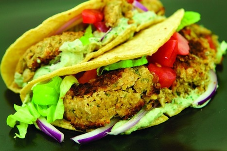 Falafel Tacos [Vegan] | Healthy Living Lifestyle | Scoop.it