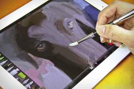 Sensu Brush – Le pinceau pour tablettes tactiles   Le blog des tendances   Geeks   Scoop.it