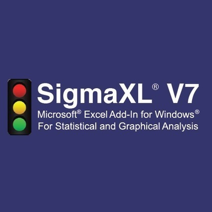 "SigmaXL on Twitter: ""Why should you look forward to Monday? SigmaXL Version 7.0 arrives! #stats #sixsigma #bigdata http://t.co/3kNEZX6v76"" 