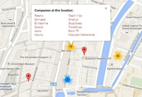 Why Mapping Matters for Amsterdam's Startup Culture | Innovation and the knowledge economy | Scoop.it