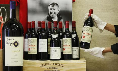 Sir Alex Ferguson to auction vintage wine collection valued at £3m | The pick of the best wine stories from social media and across the 'net | Scoop.it