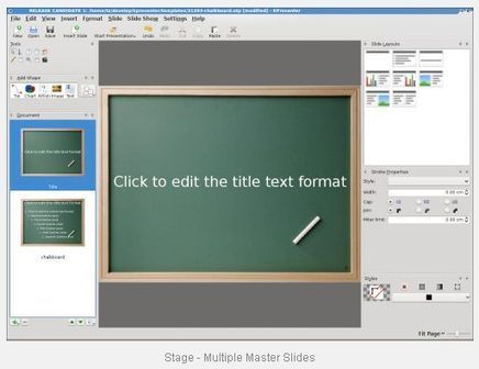 Stage - free software for creating flexible presentations | Calligra Suite | Digital Presentations in Education | Scoop.it