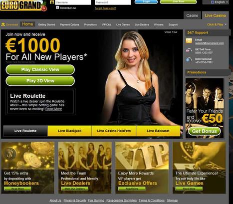 Eurogrand Casino | Casino Online NL | Beste Online Casino spellen en Bonus in Netherlands | Scoop.it