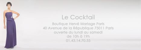 Herve Mariage Paris - Robe de soirée Coco | Robe de soirée Coco - HerveMariage | Scoop.it