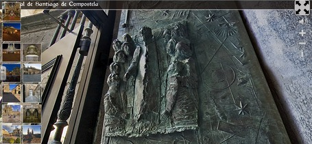 TOUR VIRTUAL: Catedral Santiago Compostela | Tecnología Educativa S XXI | Scoop.it