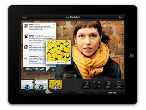 TouchCast : Experience the Web Inside a Video | Moodle and Web 2.0 | Scoop.it
