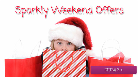 Sparkly Weekend Offers - Special Offer   The Sparkle Club   Scoop.it