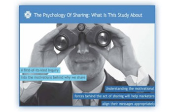 The Psychology of Sharing | A Marketing Mix | Scoop.it
