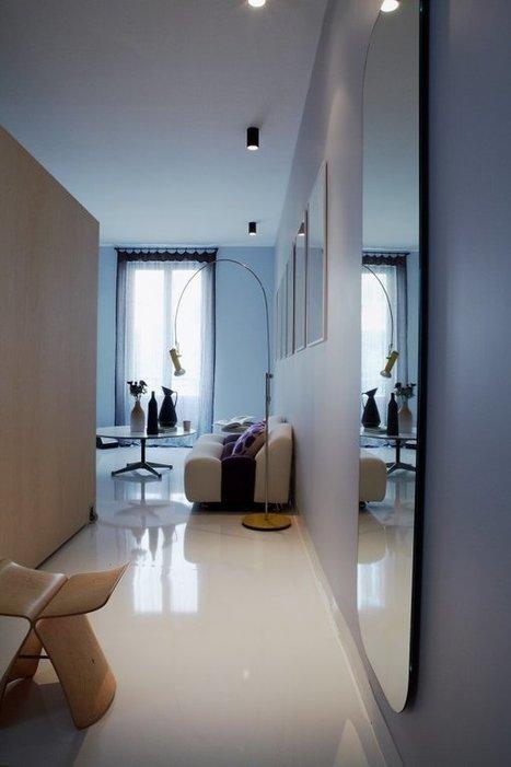 7 façons d'agrandir l'espace avec un miroir | Merveill'home | Scoop.it