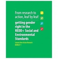 WEDO » WEDO Launches: From research to action, leaf by leaf: getting gender right in REDD+ SES | Fabulous Feminism | Scoop.it