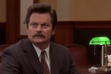 Mindfulness/meditation in pop culture: The Ron Swanson edition | workplace mindfulness | Scoop.it