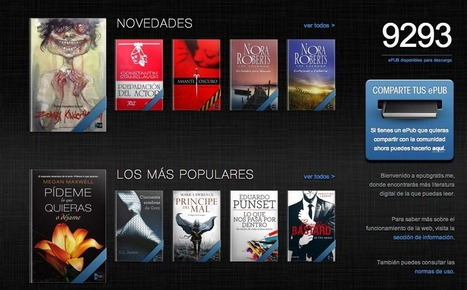 ePUB, un lugar para descargar gratis más de 9,000 libros digitales | COMUNICACIÓN E INFORMACIÓN DIGITAL | Scoop.it