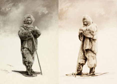 Rare Portraits of Roald Amundsen. The First Person to Reach the South Pole | xposing world of Photography & Design | Scoop.it