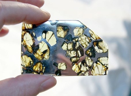 Magnetic asteroidshttp://scim.ag/RZvEdOPallasite meteorites are a bit of a... | Scenario 25 club | Scoop.it