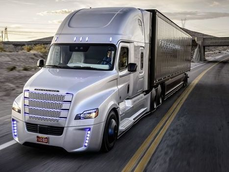Why big-rig trucks, not cars, are best for self-driving tech | Transport & Logistics | Scoop.it