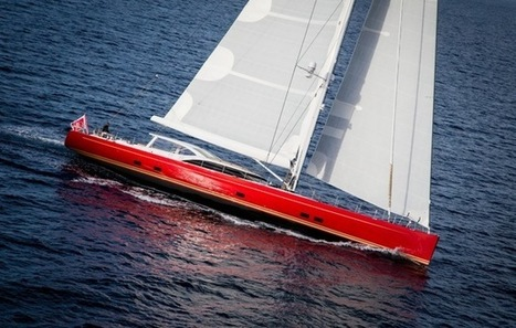 Lady in Red: Baltic Yachts launches Doryan, a sizzling, scarlet 116ft carbon ... - Yachting World   Harley Davidson   Scoop.it