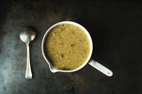 Broccoli, Lemon and Parmesan Soup   On the Plate   Scoop.it