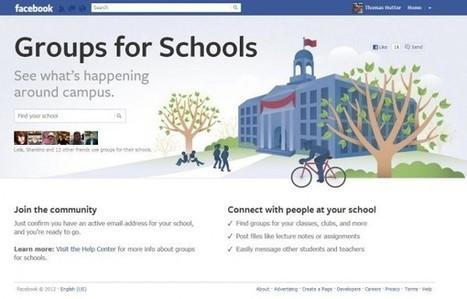 Facebook: Gruppen für Schulen | Soziale Medien & Unterricht | Scoop.it
