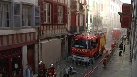 Exercice d'incendie dans le vieux Bayonne - France 3 Aquitaine | BABinfo Pays Basque | Scoop.it