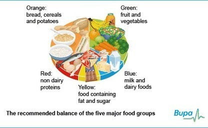 Healthy eating: Tips for a Balanced and Healthy Diet   Bupa UK   Nutritious Meal   Scoop.it