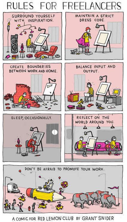 7 regole d'oro per diventare un VERO freelance | All things Freelance | Scoop.it