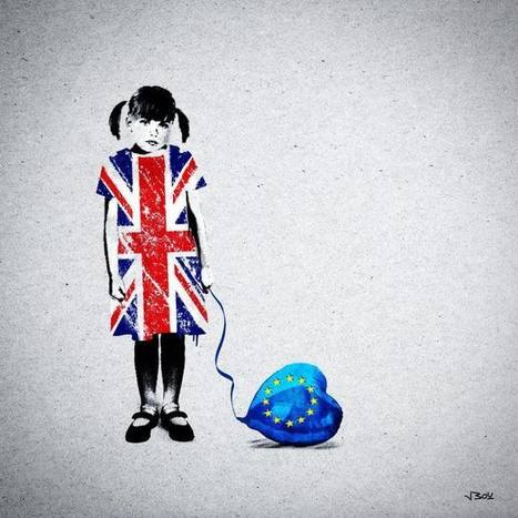 How 10 #Illustrators Have Used Visual #Art to React to the Historic #Brexit Vote | Luby Art | Scoop.it