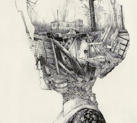 Living in My Head | Drawing | Scoop.it